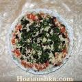 Гарячий салат з баклажанів з вешенками