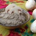 Паштет з грибами