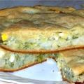 Пиріг з капустою «уно моменто»