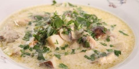 Італійський грибний суп