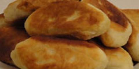 Пиріжки з грибами (рижики)